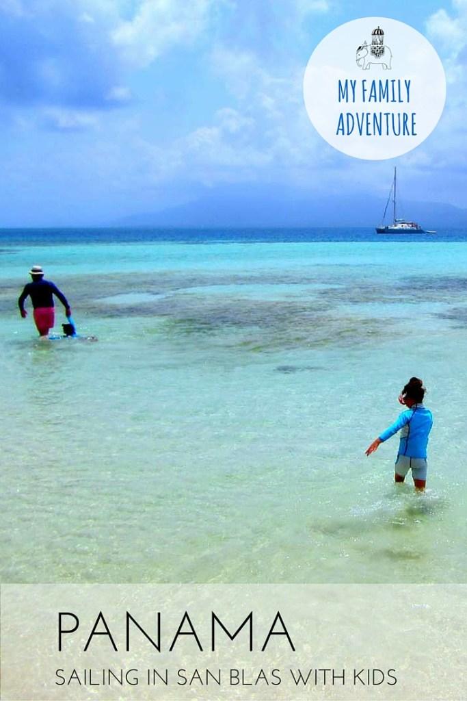 Family Adventure: Sailing in San Blas, Panama with Kids via @globetotting