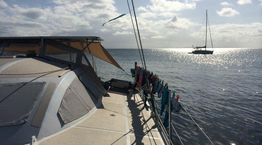 Sailing in San Blas with kids: safety