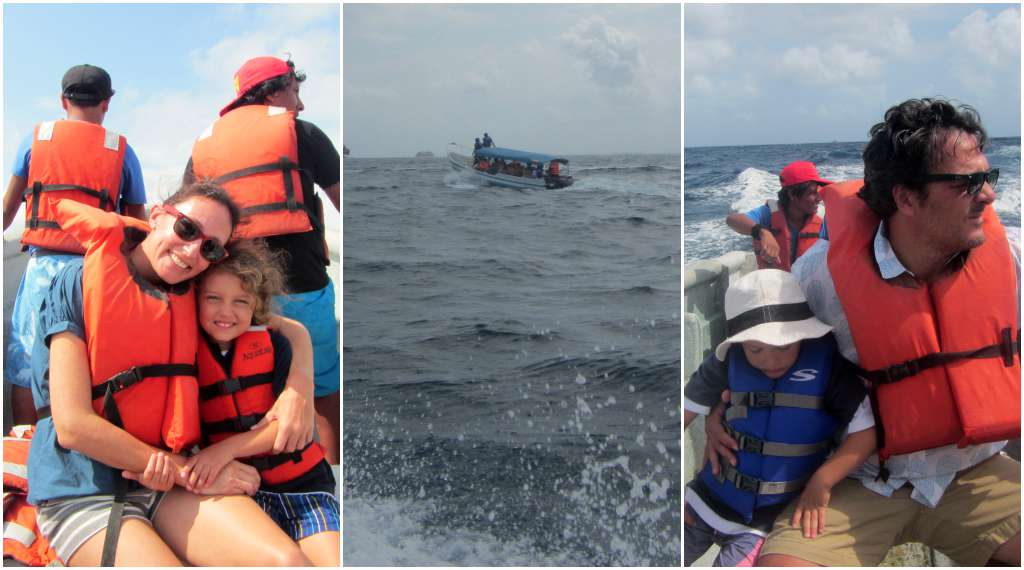 The motor launch that took us to our boat, and then back to Carti at the end of our stay. San Blas, Panama