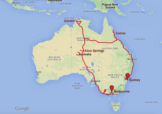 Route Australien