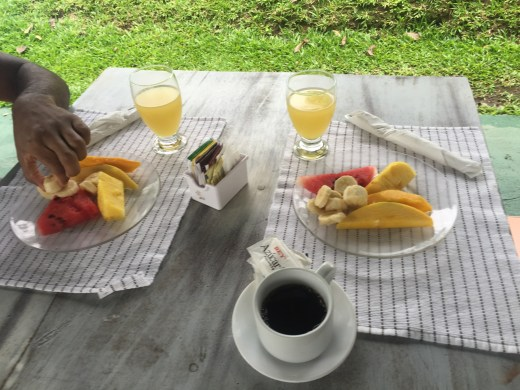Cafecito, Mango, Bananas, Papaya, Watermelon