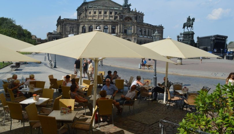 Cafè Schinkelwache a Dresda