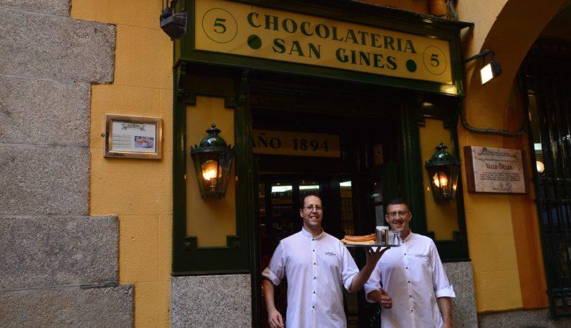 Chocolateria San Ginés: colazione a base di Churros
