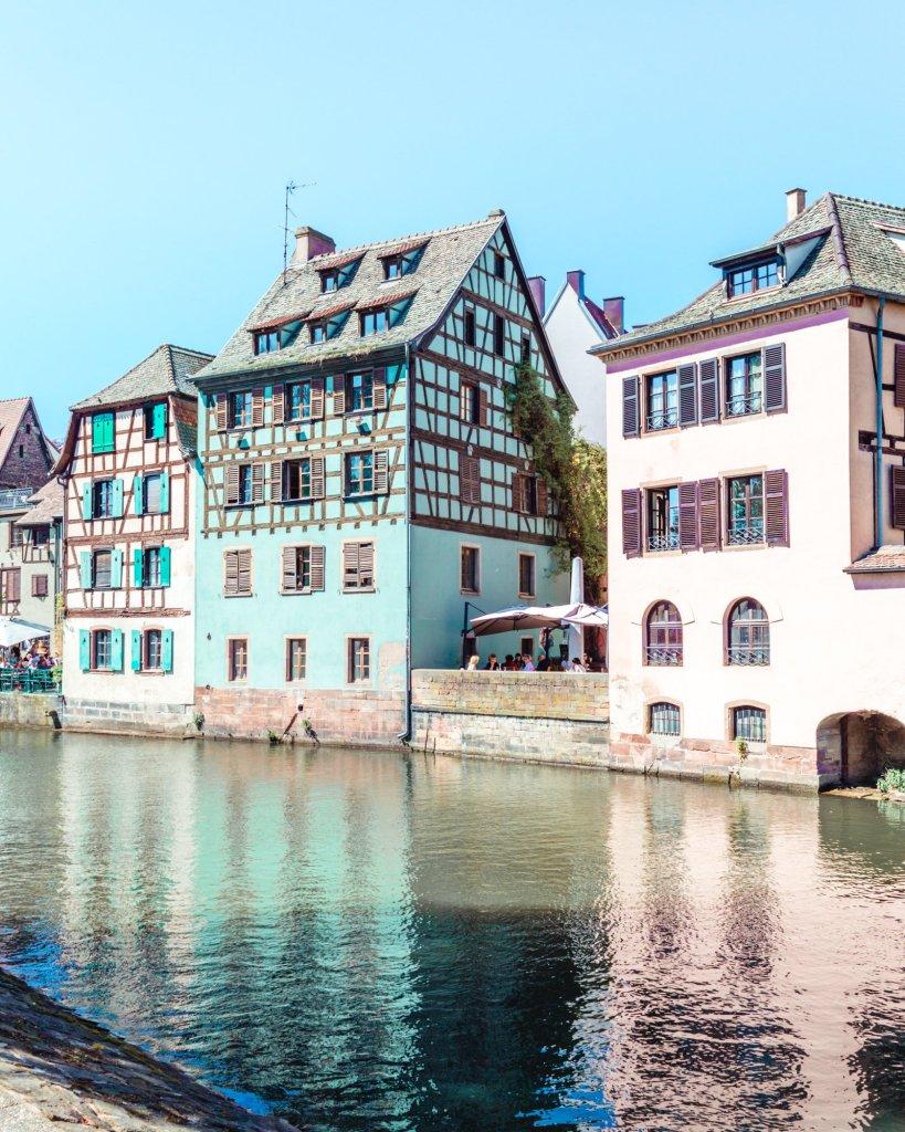 Case a graticcio di Strasburgo, Alsazia