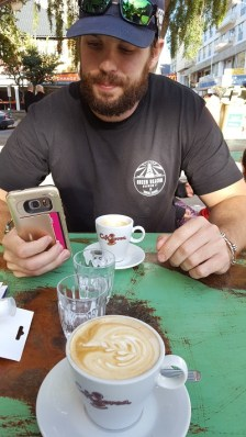 Wifi is a necessity while traveling, and our AirBnB not having reliable connection this cafe became our go-to