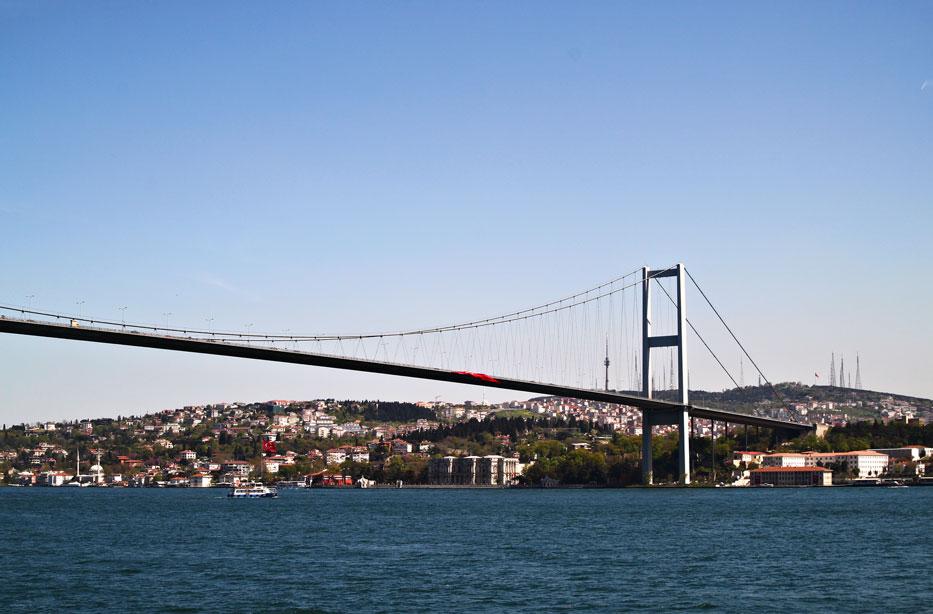 Cruising Istanbuls Bosphorus Globetrot Cat