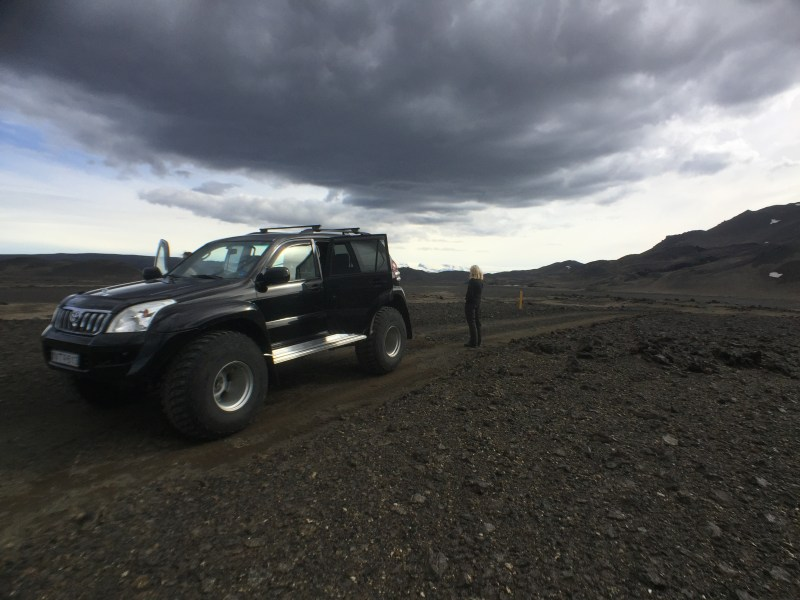 Specially modified Land Cruiser