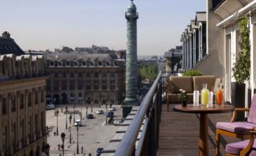 Paris Hyatt Suite Vendome View