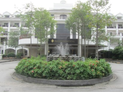 Intercontinental Hanoi Westlake Front Entrance