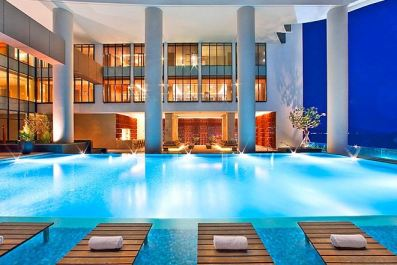 Pool and Gym View (floor above) Courtesy: Sheraton Nha Trang Website