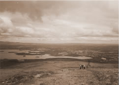 the country-side around Killarney