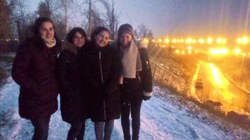 Very cold, very blurry, very cute
