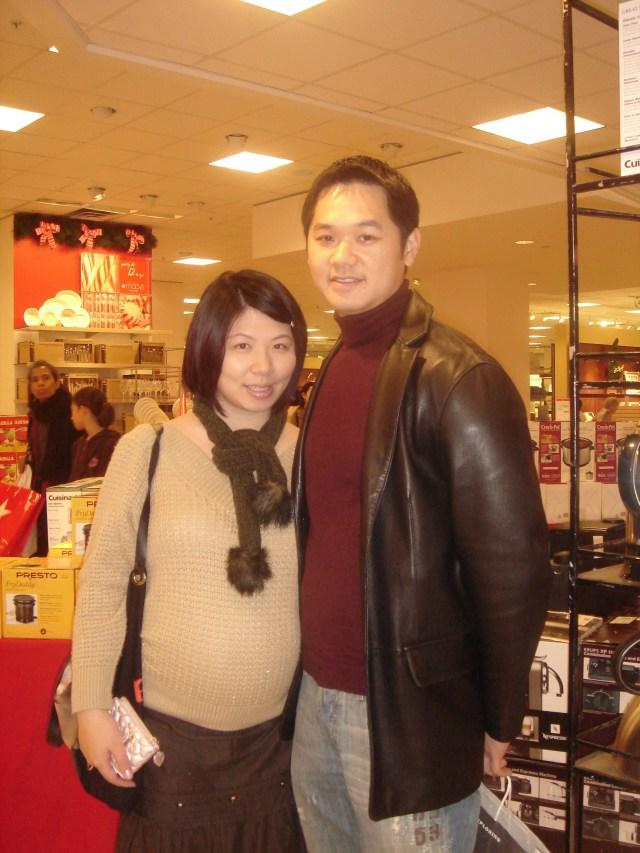 Pregnant with Bridgette, 2006
