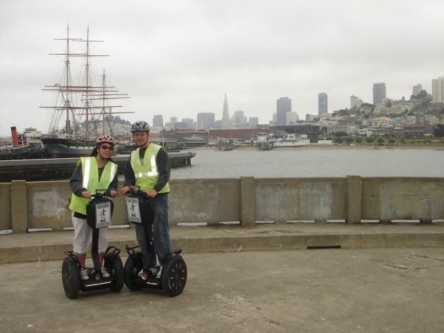 Segway-ing our way through San Francisco, 2008