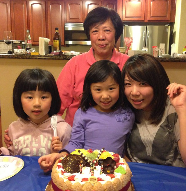 My aunt and I share the same birthday, so we always have at least one celebration together every year :)