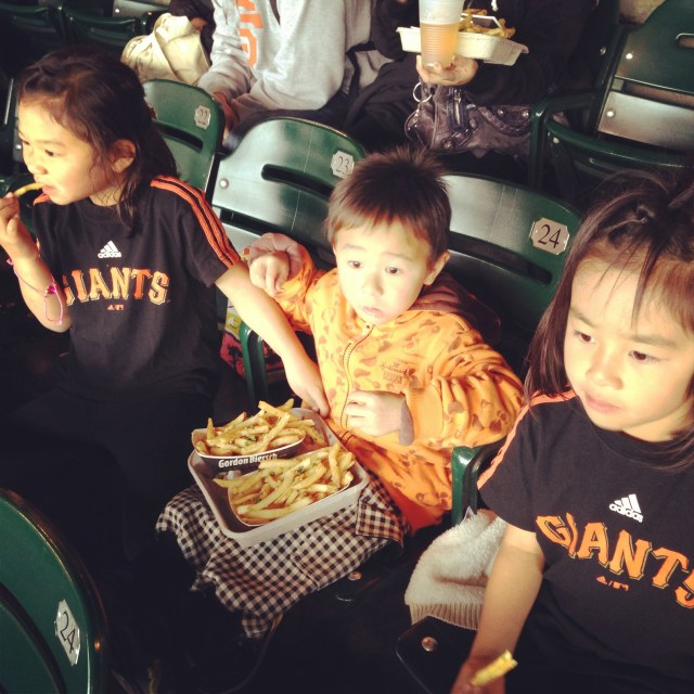 The best part of the ball game for them