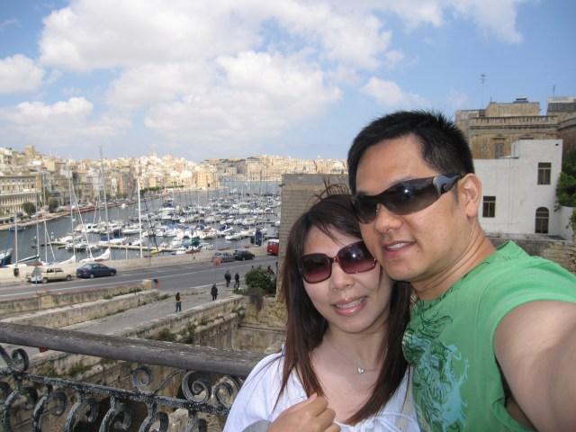2009: Mediterranean cruise with Alan