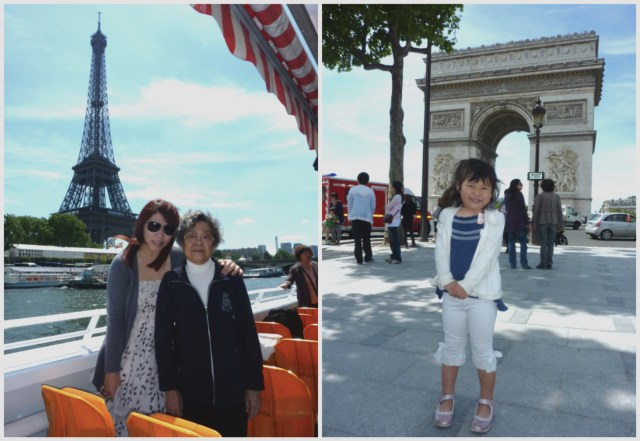 2011: Paris trip with Bridgette any my Godmother