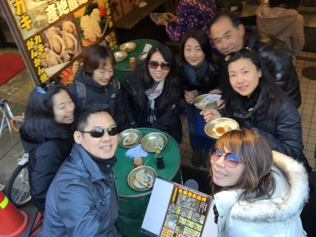 2015: Cousins' trip to Tokyo to celebrate Mimi and Alice's 40th birthday