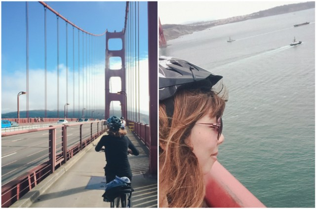 My third time biking across the Golden Gate Bridge