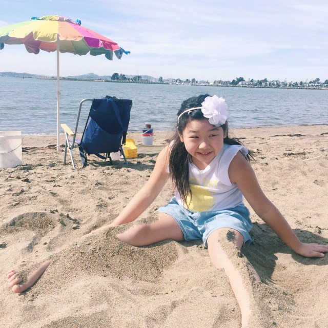 We took a really fun sand sculpting class to learn how to effectively build sand structures!