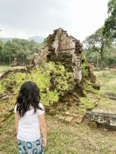 The ruins at UNESCO site in My Son