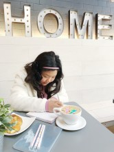 Taking our homeschooling to cool cafes