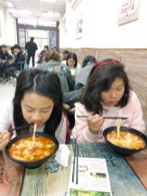We had SO MUCH noodles and dumplings on this trip!