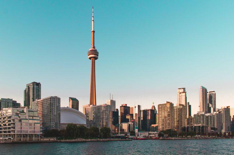 high rise buildings under blue sky