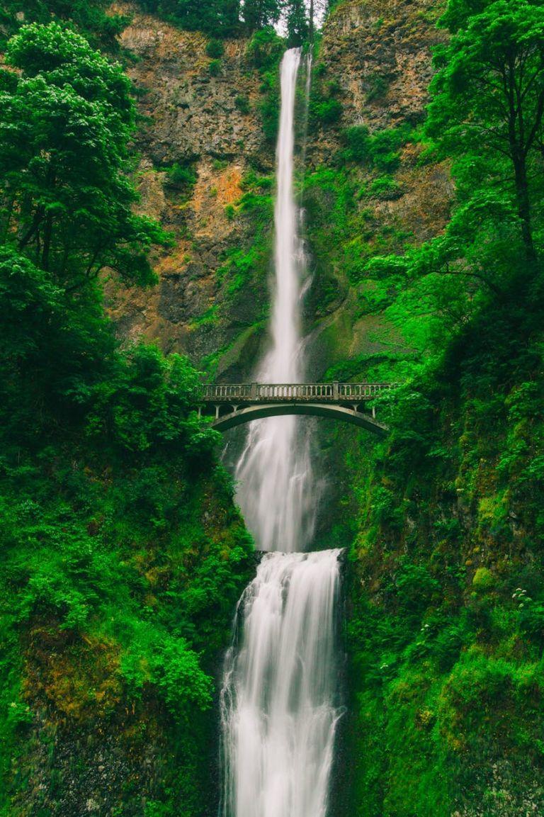 bridge cascade environment fall