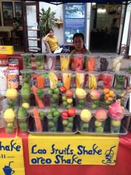 Fruit Juice Vendor, Luang Prabang, Lao