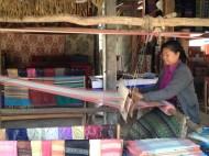 Weaver. Luang Prabang, Lao