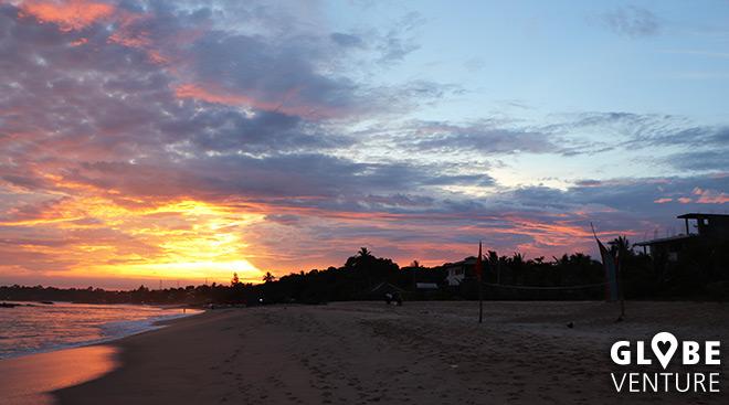 Der Strand von Tangalle