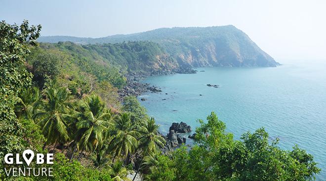 Die Sicht vom Cabo de Rama Fort