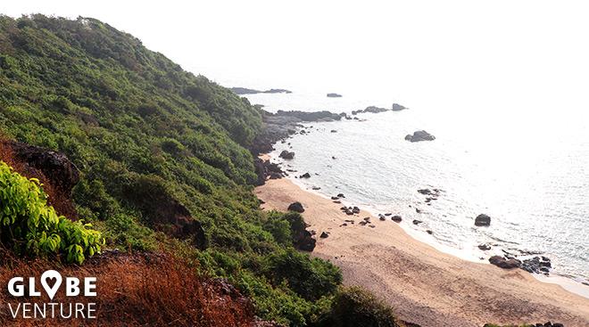 Herrliche Ausicht vom Cola Beach