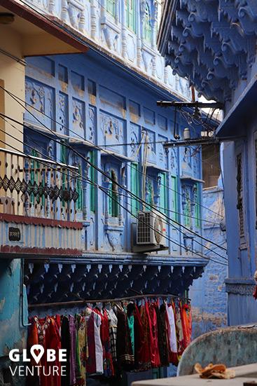 Die Gassen der Altstadt von Jodhpur