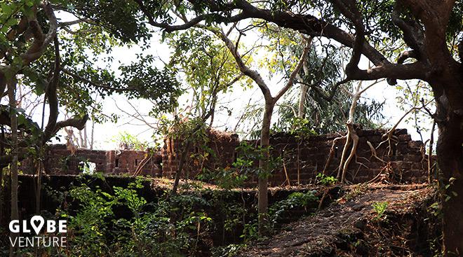 Das verfallene Redi Fort