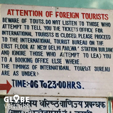 Indien Trickbetrüger