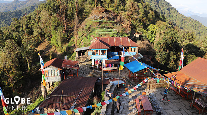 Nepal, Mardi Himal, Pokhara