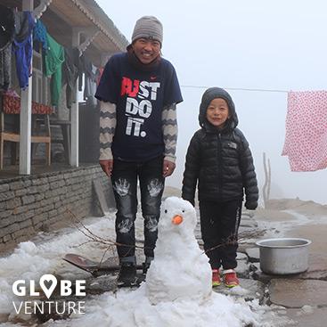 Nepal, Mardi Himal Trek, Pokhara, Highcamp