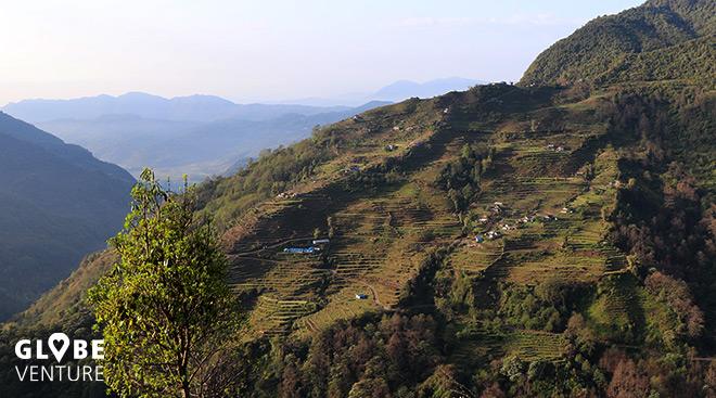 Nepal, Mardi Himal Trek, Sidhing