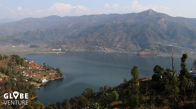 Aussicht World Peace Pagoda Pokhara