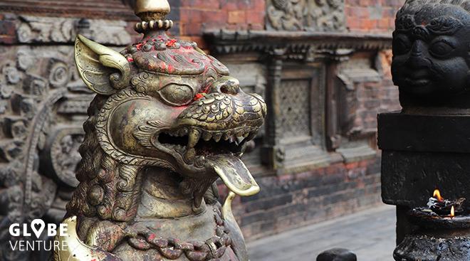 Bhairavnath Temple Bakthapur Nepal Kathmandu