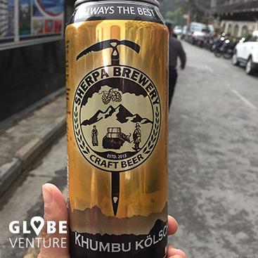 Bier Nepal Craft Beer aus der Sherpa Brewery