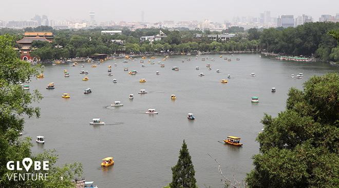 Yiheyuan Park und See