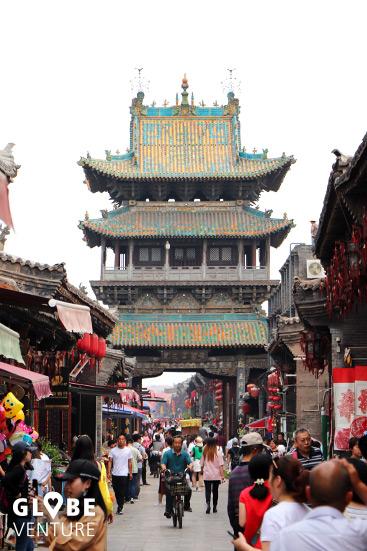 Pingyao China Glockenturm