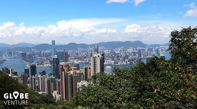 Hong Kong vom Viktoria Peak