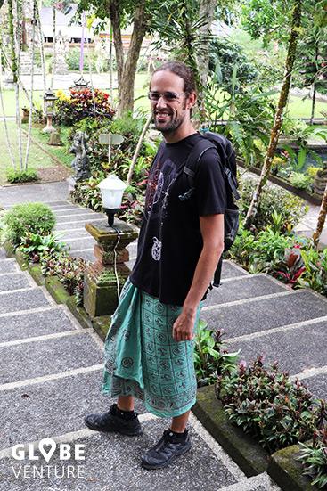 Kleiderordnung Bali Tempel