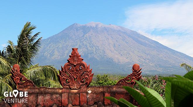 Bali Tulamben Mount Agung