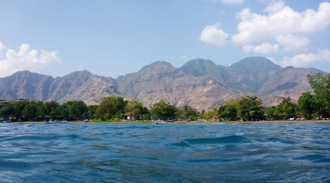 Indonesien Bali Pemuteran Berge